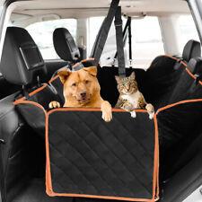 Pet Dog Car Seat Cover Waterproof Hammock Zipper Suv Back Rear Bench Protector