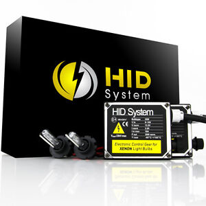 HID System HID KIT Xenon 9003 H4 Hi-Lo 6000k White High & Low Conversion Lights