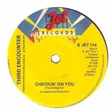 """Third Encounter - Checkin' On You - 7"""" Vinyl Record"""