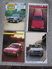 9 Catalogues Pub PEUGEOT 305 + 8 Cartes Postales PEUGEOT 205 Turbo16 Neufs