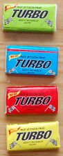 TURBO 2014 100 RANDOM GUMS GUM WRAPPERS CARS ALL COLORS