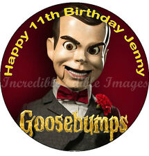 Dummy Goosebumps Books Edible ICING Cake Topper Party Decoration