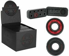 Independent Black Precision 8mm Skateboard Bearings Rings and Spacers