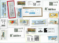 World  ATM - Automatic machine labels type postage stamps x 51 (Batch 5)