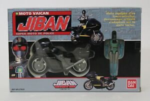 1989 Jiban MOTO VAICAN Mint In Sealed Box MISB VHTF Sentai Space Sheriff Bandai