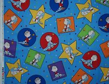 Project Linus, Peanuts fabric for Quilting Treasures blue 1 yard