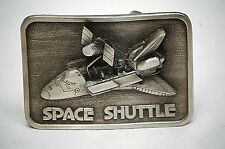 Old Vintage 1980 3D SPACE SHUTTLE NASA Belt Buckle The Buckle Connection USA