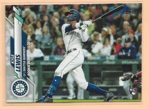 2020 Topps Update Kyle Lewis - Seattle Mariners RD