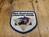 Vintage New Hampshire  International Speedway  Patch