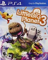 Little Big Planet 3 for PlayStation 4 [New PS4]