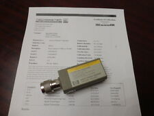 Agilent HP 8481A 10 MHz - 18 GHz RF Power Sensor (-30 to +20dbm) - CALIBRATED!