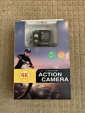 Ultra 4K Action camera Waterproof with Wifi *NEW never used.