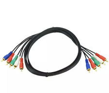 New Component Video Cable 5 RCA RGB HDTV DVD VCR 3 FT Foot 3ft Fast Shipping 🔥