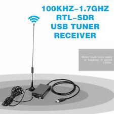 100Khz-1.7Ghz Rtl-Sdr Full Band Radio Usb Tuner Receiver Rtl2832U+R820T2 Am Fm