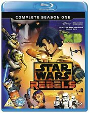 Star Wars Rebels: The Complete Season One 1 [Blu-ray Set, Region Free, 2-Disc]