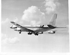 Boeing Airplane B707-70700 In Flight Press Release B & W Photo