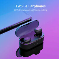QCY QS2 T2C T1C Mini Wireless Headsets Earbuds TWS Bluetooth 3D stereo Earphone