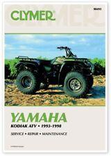 CLYMER REPAIR MANUAL Fits: Yamaha YFM400FA Kodiak 4x4 [SRA] ATV M493 70-0493