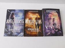 The Goddess War: Antigoddess Mortal Gods Ungodly Series Trilogy Kendare Blake