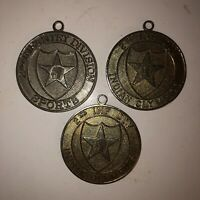 Vintage 80s INDIAN OLYMPICS 2nd INF DIV Lot of 3 Military Medals Tae Kwon Do USA