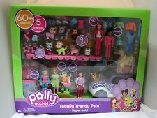 2006 Polly Pocket Totally Trendy Pet's Super Set 60+ PC Never Out of Box
