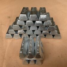 Zinc Ingots, 10+ lbs. For Plating, Bullets, sinkers, and Other Castings