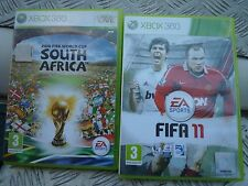 FIFA 10 World Cup and 11 Xbox 360  both owned from new and in very good conition