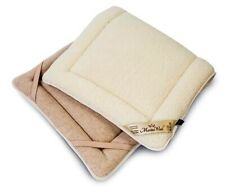 NEW  MERINO PURE WOOL PERUGIANO NATURAL Mattress Topper Bed Pad Cover WOOLMARK