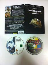 LA CHAQUETA METALICA - STEELBOOK - 2 DVD - STANLEY KUBRICK - CASTELLANO ENGLISH