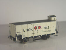 UNOX  Güterwagen G10 Niederlande    - Brawa HO Wagen -1:87   - 49063  #E