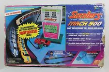 Vintage Playing Mantis Sizzlers Mach 500 Race Car Set Track