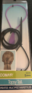 Conair Topsy Tail Kit, All In One Styling Kit New