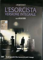 DVD • L'ESORCISTA VERSIONE INTEGRALE HORROR ITALIANO William Friedkin