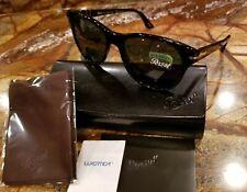 ❤❤ Persol 3134-S 95/58 Black/Green Polarized Sunglasses ❤❤