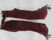 Vintage Red (Ladies ?) Horse Riding Western Chaps