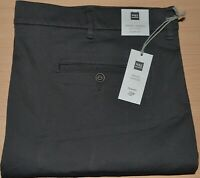 MENS M&S COLLECTION SLIM FIT TRAVEL CHINOS WITH STRETCH SIZE W48 L33 GREY BNWT