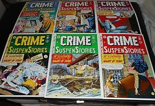 EC CRIME SUSPENSE STORIES Cover Portfolio JOHNNY CRAIG J Kamen FELDSTEIN G Evans