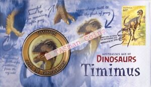 PNC Australia 2013 Age of Dinosaurs Timimus Medallion Limited Edition 5000