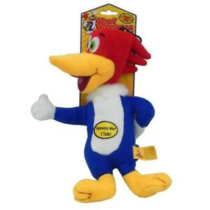 """Multipet Woody Woodpecker Plush Dog Toy Laughs When squeezed 11"""" Single or 3pck"""