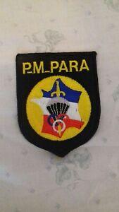 Insignes PMP parachutistes TAP