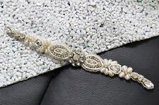 Rhinestone Crystal Pearl Applique,Bridal Wedding Headwear Women Hair Accessories