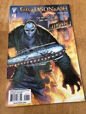 Freddy Vs Jason Vs Ash 1 J Scott Campbell Comic Book *Read Description*