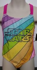 Disney Star Wars One Piece Girls Kids Swim bathing suit Swimwear UPF50 XS
