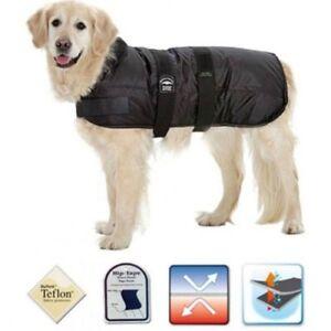 Hunde Mantel Eisbär atmungsativ Hund Schnee Jacke Weste warm Winter Coat schwarz