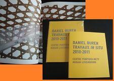 * Daniel BUREN * NEUF cello *  Luxembourg - Metz Centre Pompidou 2010-2011 *