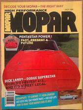 High Performance MOPAR July 1990