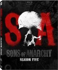 Sons of Anarchy: Season 5 (Blu-ray Disc, 2013, 3-Disc Set)