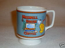 """Small Footed Maxwell House """"Good to the Last Drop"""" Advertising Coffee Mug"""