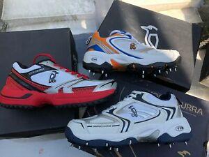 KOOKABURRA  Rubber Cricket Shoes Spikes Assorted  KIDS JNR JUNIOR  UK 2  UK 3