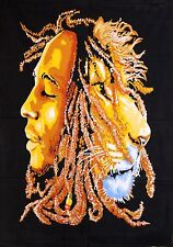 Bob Marley Tapestry WallHanging Throw Poster Flag Cotton Hippie Hippy 40*30 Boho